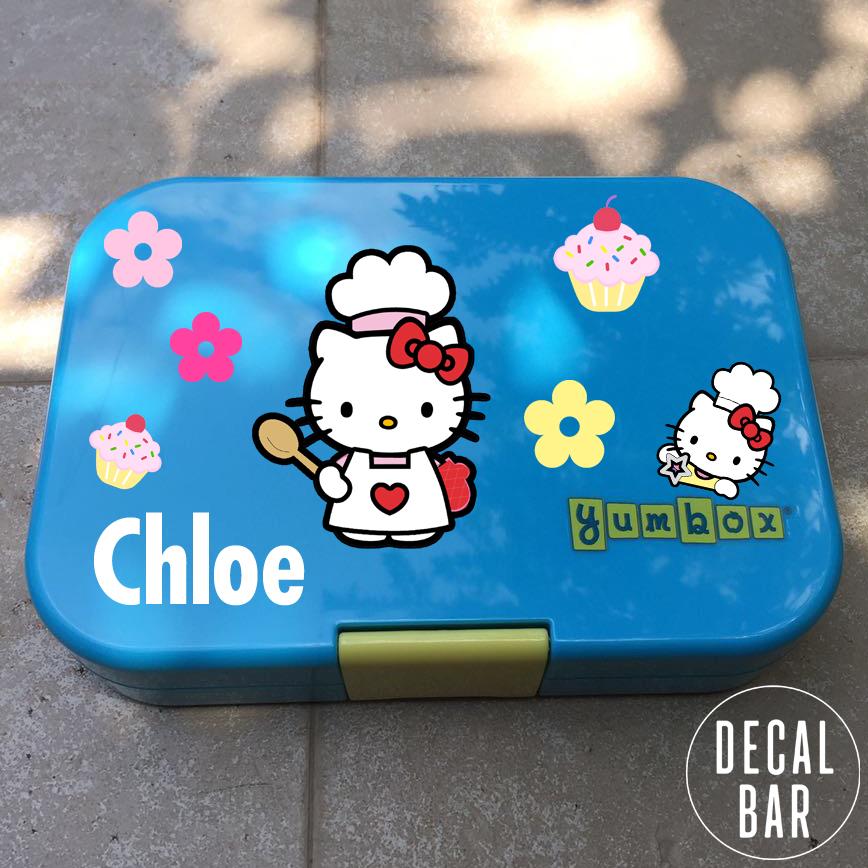 Yumbox decals decal bar